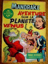MANDRAKE N°6 EDITIONS DES REMPARTS 1962 TRES BON ETAT