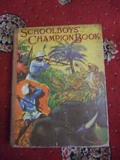Schoolboys' champion book 1950