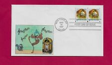 #3132 Juke Box Coil Fdc Rocky With Bullwinkle The Moose Dancing