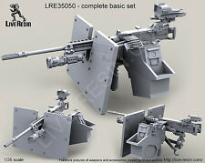Live Resin 1:35 M2 Browning .50 Cal Machine Gun on MK93 Mount #5 Resin #LRE35050