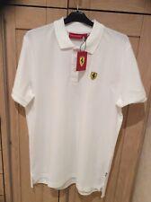 Ferrari New Men's Classic Polo T-Shirt Size L