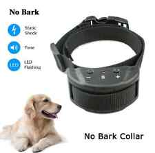 New Anti No Bark Shock Dog Trainer Stop Barking Pet Training Control Collar