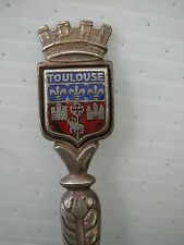 * B CUILLERE DE COLLECTION SPOON - EMAIL - TOULOUSE BLASON