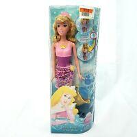 Disney Princess Bath Beauty Sleeping Beauty Doll Magical Color Change 2011 NEW