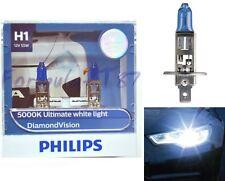 Philips Diamond Vision Blanco 5000K H1 55W Dos Bombillas Luz Antiniebla Recambio