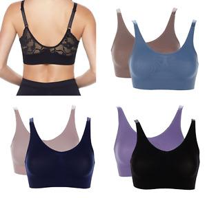 Rhonda Shear Lace Back Ahhlette 2-pack (HSN 546624)