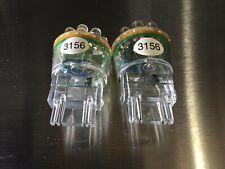 2pcs 3156 Led White Light Bulbs 12V