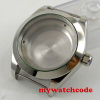 40mm 316L steel sapphire glass automatic Watch Case fit ETA 2824 2836 MOVEMENT