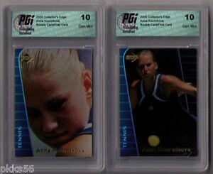 2000 ANNA KOURNIKOVA ROOKIE CARDS SET (5 CARDS SET) ALL 5 CARDS GEM MINT 10!!!!!