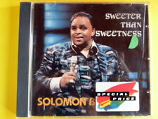 BURKE SOLOMON - SWEETER THAN SWEETNESS. CD.