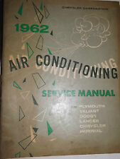 1962 Air Conditioning Service Manual