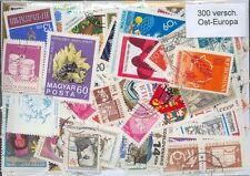 300 verschiedene Briefmarken aus Osteuropa