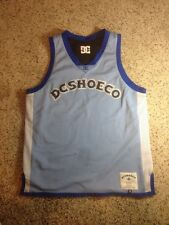 DC Shoes men's XL SLEEVELESS T SHIRT LINED BLUE See Dimensions Ked