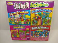 Creative Kids 4 in 1 Activities in box  New  Ages  6 +