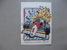AUSTRALIA, PPC (card Adelaide Grand Prix) CTO1989, car-racing