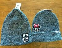 Lot of 2 His & Hers Neff Disney World Mickey M28 Minnie Mouse Winter Beanie Hat