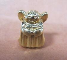 AUTHENTIC PANDORA ANGEL OF HOPE 14K GOLD BEAD #750419 CHARM BRAND NEW