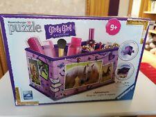 Nuevo Sellado Ravensburger 3d Puzzle Girly Girl Edition 216 piezas 23x16x13