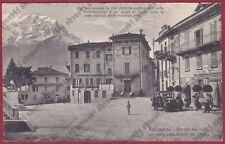 LECCO BARZIO 51 CAFFÈ CONFETTERIA GARIBALDI - AUTOMOBILE d'EPOCA viaggiata 1931