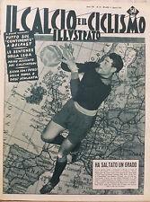 IL CALCIO ILLUSTRATO N 32 1955 BUFFON PORTIERE EUROPA - TIFOSI ROMA ATALANTA