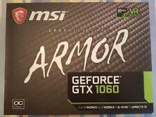 MSI GeForce GTX 1060 Armor OC V1 6GB GDDR5