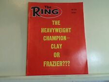 1970 The Ring Magazine Back Issue Joe Frazier