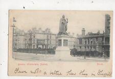 Queen Victoria Statue Hove 1903 Postcard Mezzotint Co 692a