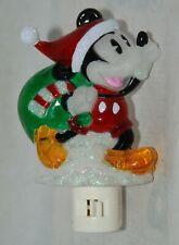 Disney Classic Pie Eye Mickey Mouse Christmas Night Light