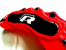 VW Brake Caliper Cover Red Disc Polo Jetta Bora Passat TDI 1.8T 2.0 TFSI R line