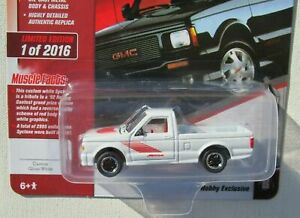 Johnny Lightning Muscle Cars U.S.A 1991 GMC SYCLONE white 2018 Hobby Exclusive