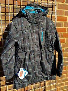Female ski jacket and winter coat. Dare2B. Flabbergast. Black. Size 8