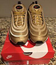 Nike Air Max 97 Metallic Gold Size 12