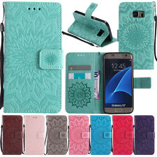 Patterned Magnetic Flip Leather Wallet Card Stand Case Cover For Samsung S8 Plus