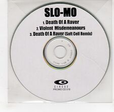 (GI949) Slo-Mo, Death Of A Raver - DJ CD