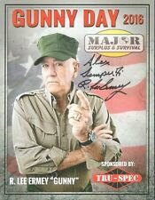 R. Lee Ermey Hand Signed 8.5x11 IN PERSON Autograph Full Metal Jacket PROOF