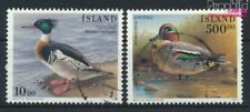Islande 862-863 oblitéré 1997 Oiseaux (9223543