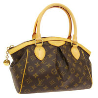 LOUIS VUITTON TIVOLI PM HAND TOTE BAG VI0171 PURSE MONOGRAM M40143 AUTH 00180