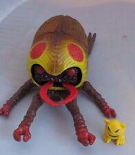 Vintage 1985 ROCKS & BUGS & THINGS -  Evil Beetle Bug figure, MordIe, Ideal