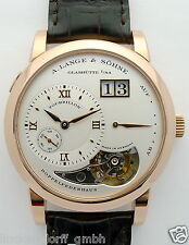A. Lange & Söhne tourbillon Lange 1 rotgold de 2003 New Old Stock m. box & certif