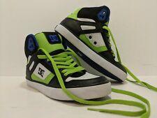 DC Shoes Spartan Hi WC Men's Skateboard Shoes Black, Green, White & Blue Size 7