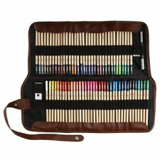 72 Color Art Supplies Colored Pencils Professional Drawing Set Sketching Wood
