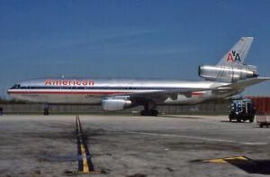 Original aircraft slide American Airlines DC10 N138AA