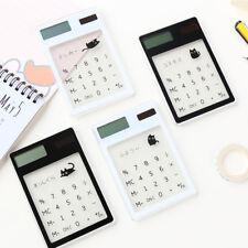 Transparent Calculator Cute Pocket Calculator Solar Scientific Calculators