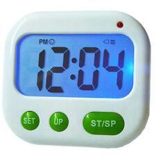 Digital LCD Cooking Study Timer Backlight Music Vibration Countdown Alarm Clock