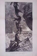 Antique (Pre-1900) Etching Seascape Art Prints