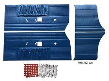 PG Classic 7507-330 Mopar 1969  Dodge Charger  R/TFront & Rear Door Panel Blue