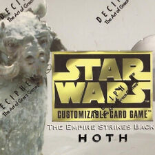 Rare Singles [choose card & condition] HOTH LIMITED BB star wars ccg swccg