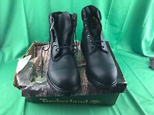 "Size 11 Timberland 6"" Premium Men's Boot Black Leather Waterproof 10054"