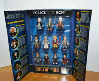 DOCTOR WHO MINI FIGURE SET CHARACTER BUILDING BLOCK MICRO ACTION FIGURES BBC