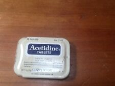 Acetidine Tablets Metal Box